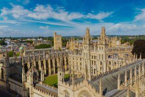 Oxford - locations SH